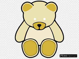 Yellow Cute Teddy Bear