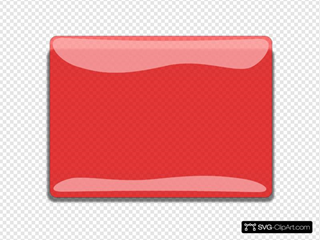 Red Rectangle Blank Button