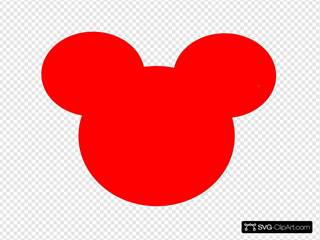 Mickey Mouse Outline