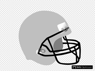 Football Helmet  SVG Clipart