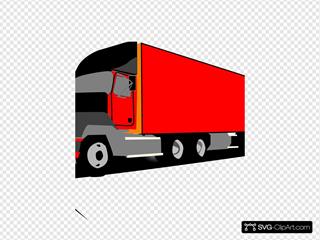 Truck 18 Wheeler Trucker