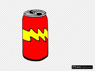 Red Pop Can