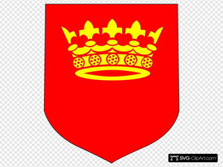 Crown On Banner