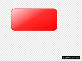 Blank Light Red  Button