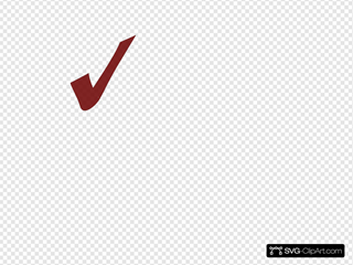Transparent Red Checkmark