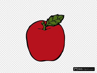 Apple SVG Cliparts