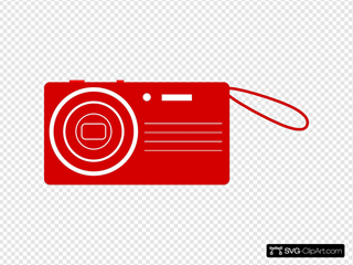 Red Digital Camera