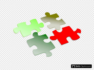 Green & Red Puzzle