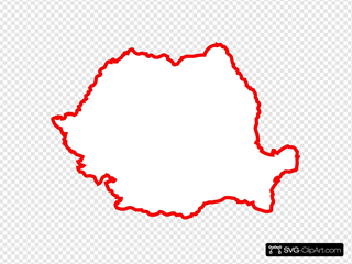 Romania Contour Red By Lmc