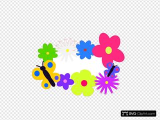 Flower Bouquet SVG Clipart