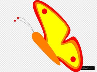 Butterfly Ebf SVG Clipart