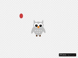 Red Gray Owl