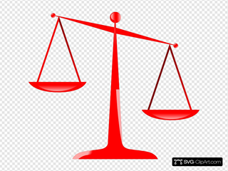 Scales Of Justice (red)