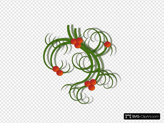 Christmas Swirls SVG Cliparts