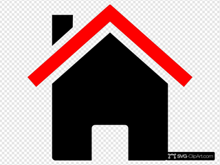 House Red Black