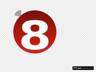 Bullet 8 Red 8