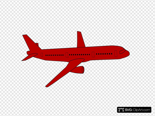 Airplane SVG Cliparts