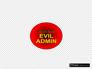 Evil Admin SVG icons