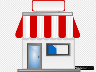 Shop Front Without Title