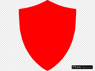Red Shield2 Clipart