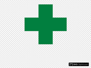 Doctor Logo Green White