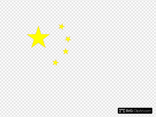 Chinese Flag Svg Vector Chinese Flag Clip Art Svg Clipart