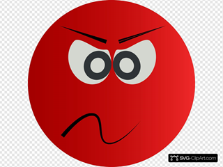 Angry Red Face