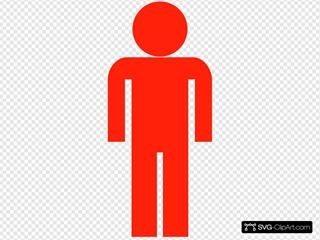 Red Man Symbol