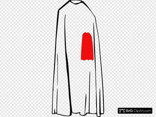 Red Cape Clipart
