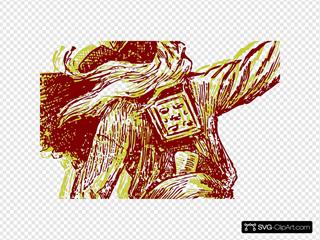 Golden Viking 2 SVG Clipart