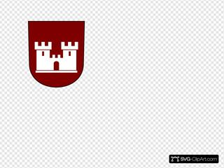 Castle Red Shield