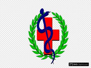 Medical Symbol SVG Clipart