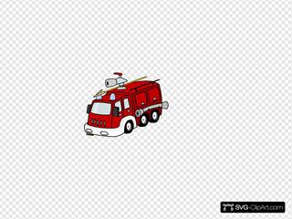 Fire Truck Svg Vector Fire Truck Clip Art Svg Clipart