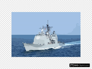 Uss Vella Gulf - At Sea
