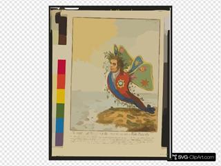 The Great South Sea Caterpillar, Transform D Into A Bath Butterfly  / Js.g. Desn. Et Fect.