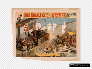 Imre Kiralfy S Gigantic Aquatic Historical Spectacle, Venice, The Bride Of The Sea At Olympia