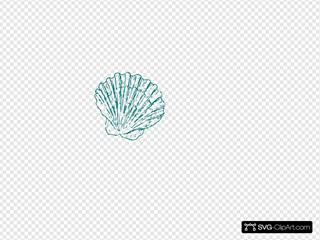 Greeen Sea Shell