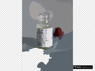 Vile Of The Smallpox Vaccine