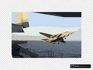 Uss Kitty Hawk - Tomcat Launch