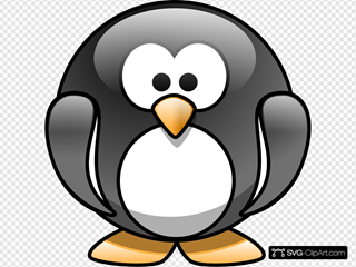 Cartoon Penguin 2