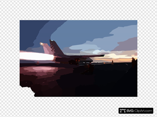 F-14 Launch Aboard Cvn 74