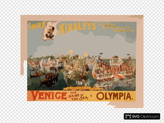 Imre Kiralfy S Superb Spectacular Creation, Venice, The Bride Of The Sea, At Olympia