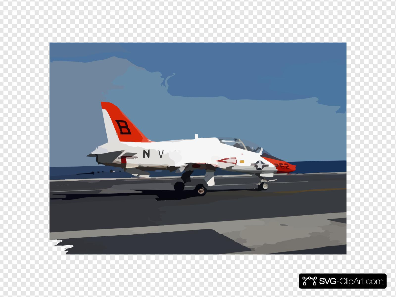 A T-45c Goshawk Assigned To Training Air Wing Two Maneuvers The Ship S Flight Deck Following And Arrested Landing Aboard Uss Harry S. Truman (cvn 75).
