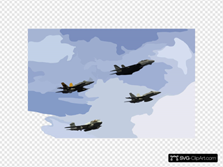 Uss Kitty Hawk - Air Power Demonstration