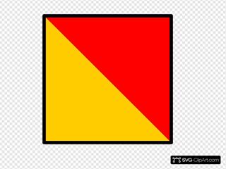 Flag Symbol Nautical
