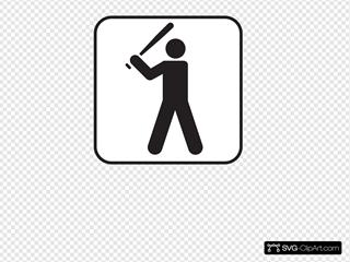 Baseball White SVG Clipart