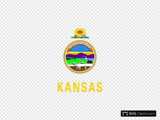 Us Kansas Flag