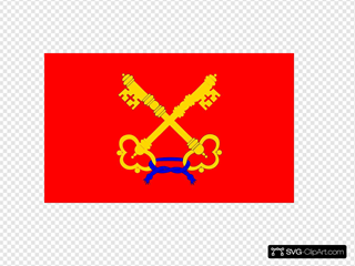 Flag Of Comtat Venaissin