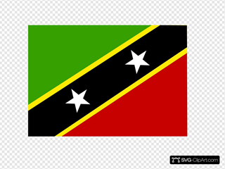 Saint Kitts And Nevis Clipart