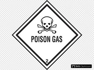 Poison Gas Symbol